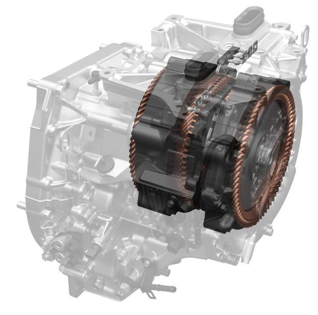 画像: ホンダが独自開発したハイブリッドシステムi-MMD(写真はCR-Vのもの)。駆動用と発電用、ふたつのモーターを備える。EV走行も可能だ。