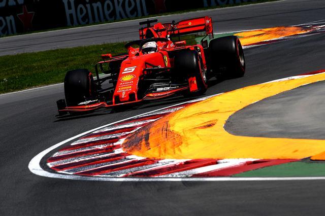 画像: ポールポジションはフェラーリのセバスチャン・ヴェッテル。