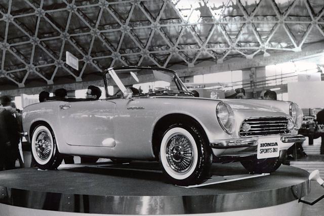 画像: 1962年に発表されたS360は、残念ながら市販されぬまま消えた。