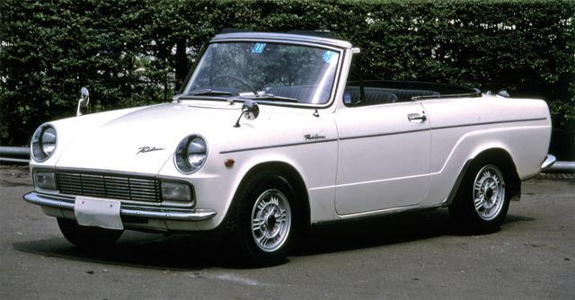 画像: 1966年12月にエンジンをトヨタスポーツと同じ790㏄の45psエンジンを搭載、大幅なフェイスリフトをうけてUP20Sとなる。印象はガラリと変り、それまでの安物感を払拭した。価格は49万9000円。