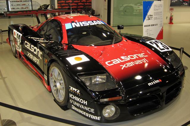 画像: 当時の日産車のデザインイメージに沿ったフロントグリルが与えられている。