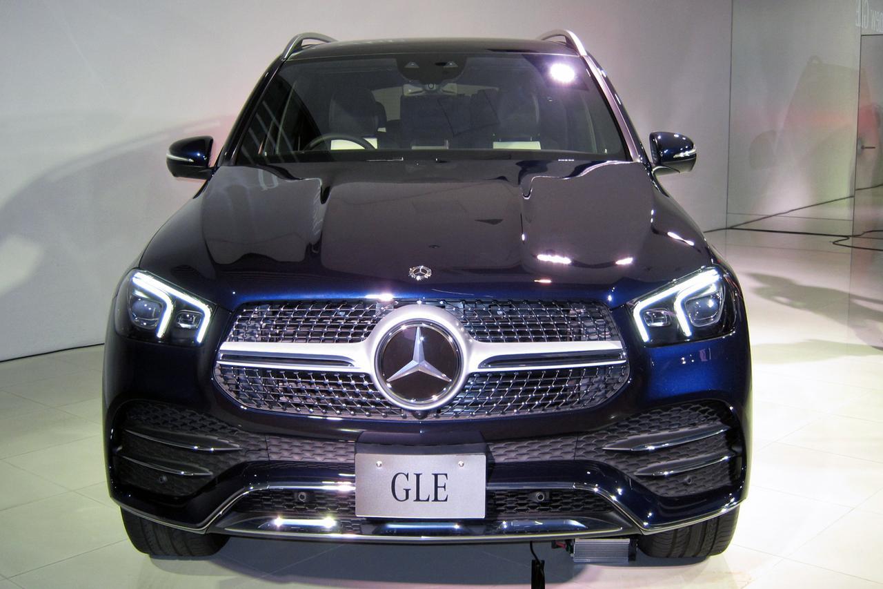 Images : 2番目の画像 - メルセデス・ベンツ新型GLE - Webモーターマガジン