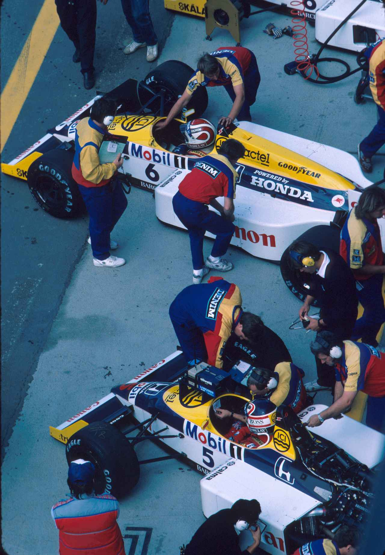 Images : 4番目の画像 - ウィリアムズ・ホンダFW11B Williams Honda FW11B(1987) - LAWRENCE - Motorcycle x Cars + α = Your Life.