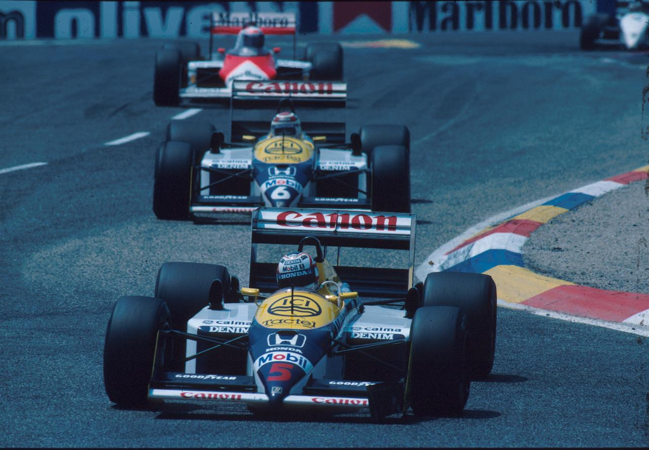Images : 1番目の画像 - ウィリアムズ・ホンダFW11B Williams Honda FW11B(1987) - LAWRENCE - Motorcycle x Cars + α = Your Life.