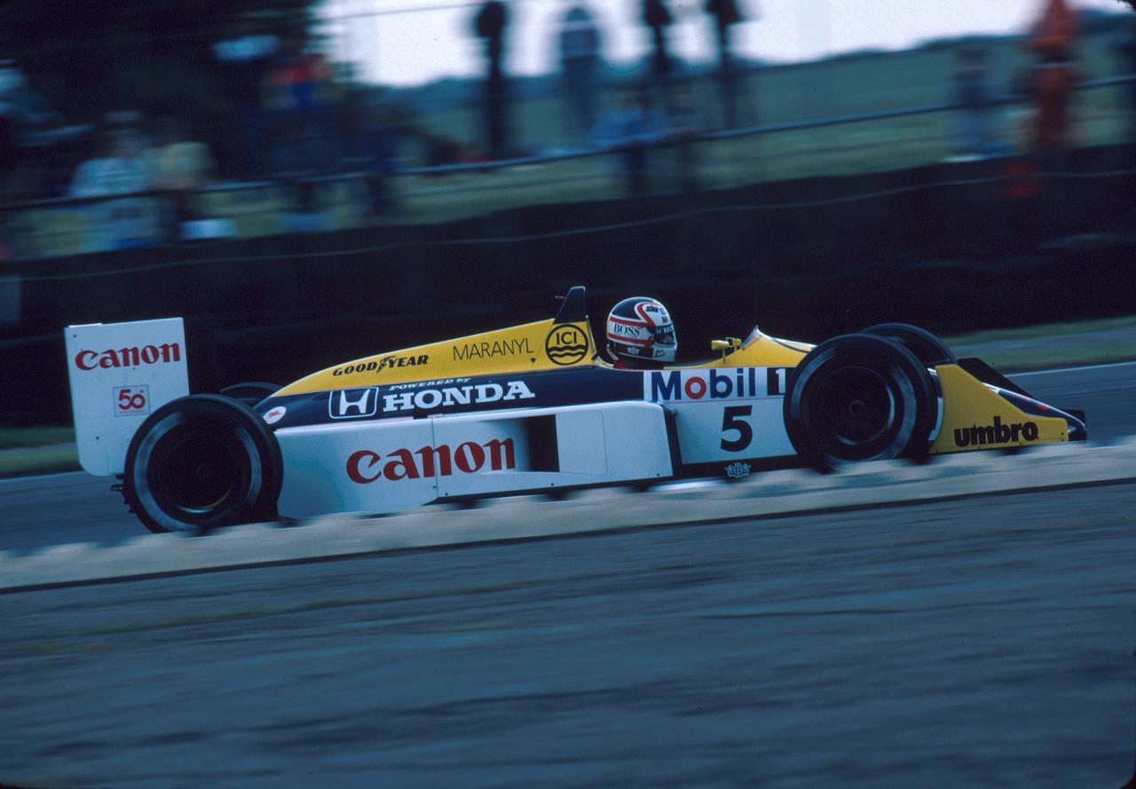 Images : 6番目の画像 - ウィリアムズ・ホンダFW11B Williams Honda FW11B(1987) - Webモーターマガジン