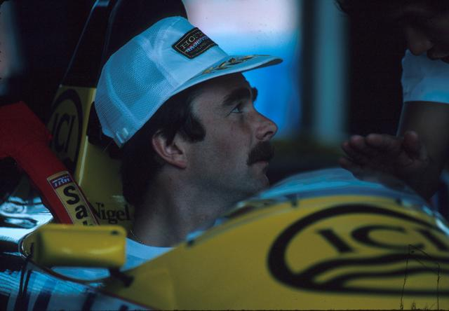 画像: 優勝6回、ポールポジション8回を記録しながらリタイアが多く、チャンピオンを逃したナイジェル・マンセル。