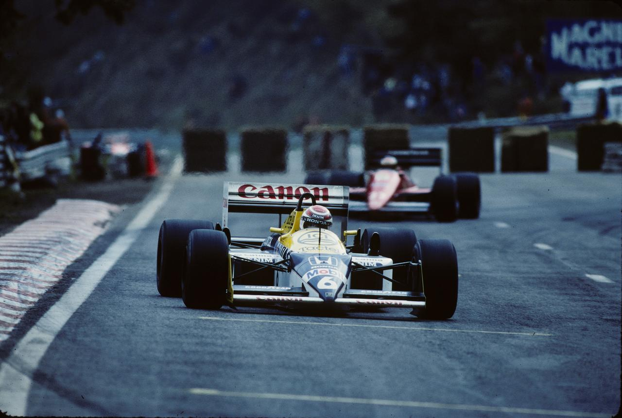 Images : 11番目の画像 - ウィリアムズ・ホンダFW11B Williams Honda FW11B(1987) - LAWRENCE - Motorcycle x Cars + α = Your Life.