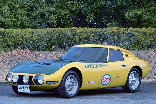 画像: 1966年8〜10月、谷田部のテストコースにおいてトヨタ 2000GTは3つの世界新記録と13のクラス別国際新記録を樹立した(写真はトヨタ博物館所蔵のレプリカ)。