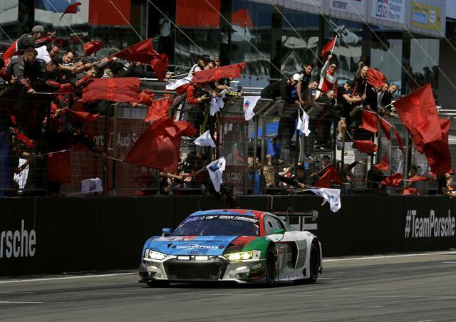 画像: 総合優勝はSP9クラス(GT3)のアウディスポーツ・チーム・フェニックスの号車アウディR8 LMS。