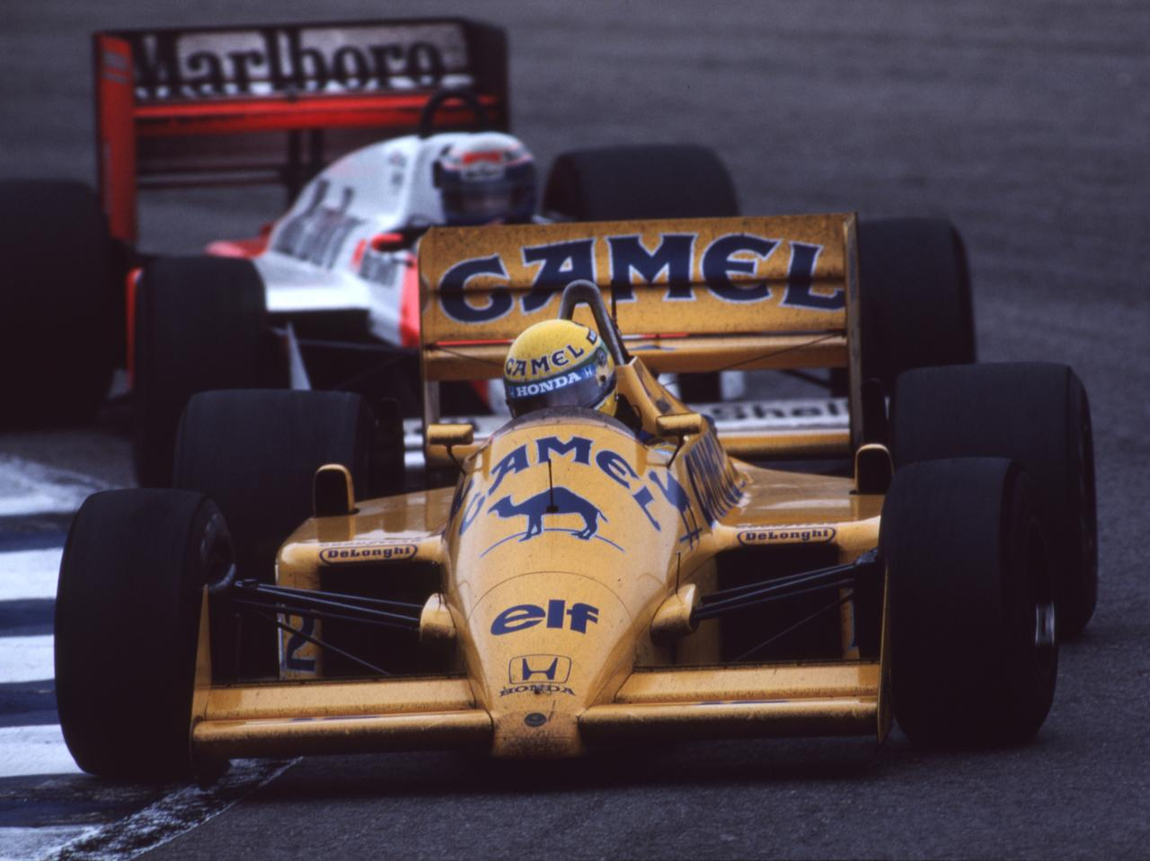 Images : 1番目の画像 - ロータス・ホンダ 99T Lotus Honda 99T(1987) - LAWRENCE - Motorcycle x Cars + α = Your Life.