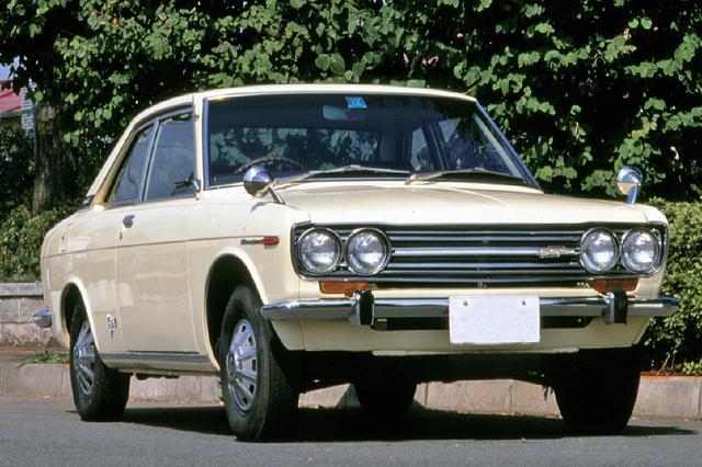 画像: 70年9月から発売された510型のクーペ1600SSS。スポーツモデル=クーペという公式は、この頃から定着してきたのかも知れない。
