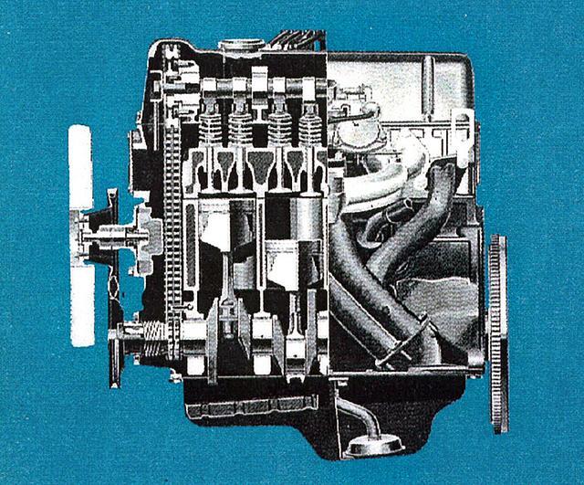 画像: エンジンは名機L16型。ノーマルのL16をSUツインでパワーアップし、最高出力は100ps/6000rpm。