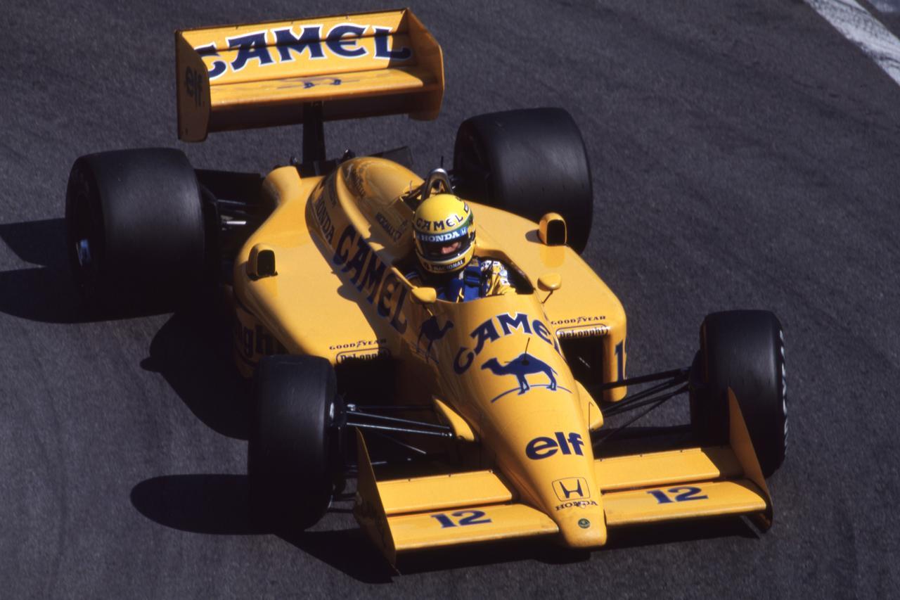 Images : 6番目の画像 - ロータス・ホンダ 99T Lotus Honda 99T(1987) - Webモーターマガジン