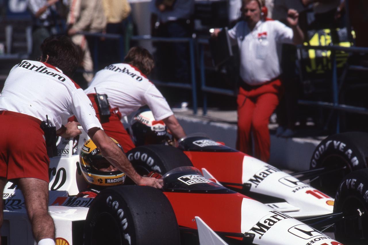 Images : 8番目の画像 - マクラーレン・ホンダ MP4/4(1988)McLaren Honda MP4/4 - Webモーターマガジン