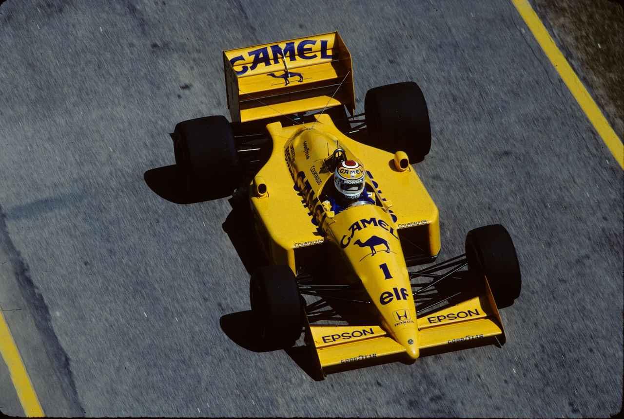 Images : 4番目の画像 - ロータス・ホンダ 100T Lotus Honda 100T(1988) - Webモーターマガジン