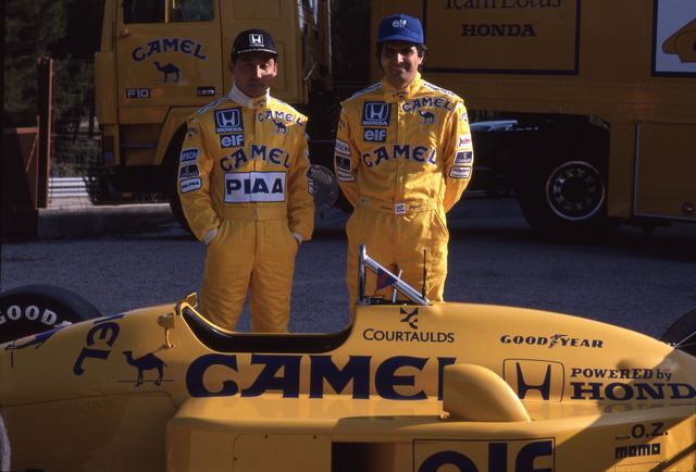 画像: 全日本のチャンピオンでありホンダエンジンを知り尽くした中嶋 悟(左)と、前年のチャンピオンであるネルソン・ピケの組み合わせは強力だった。