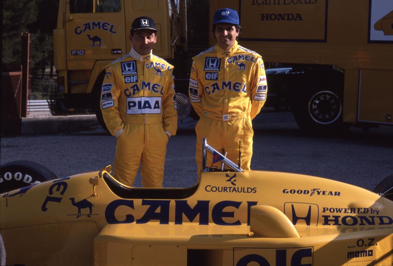 Images : 10番目の画像 - ロータス・ホンダ 100T Lotus Honda 100T(1988) - Webモーターマガジン