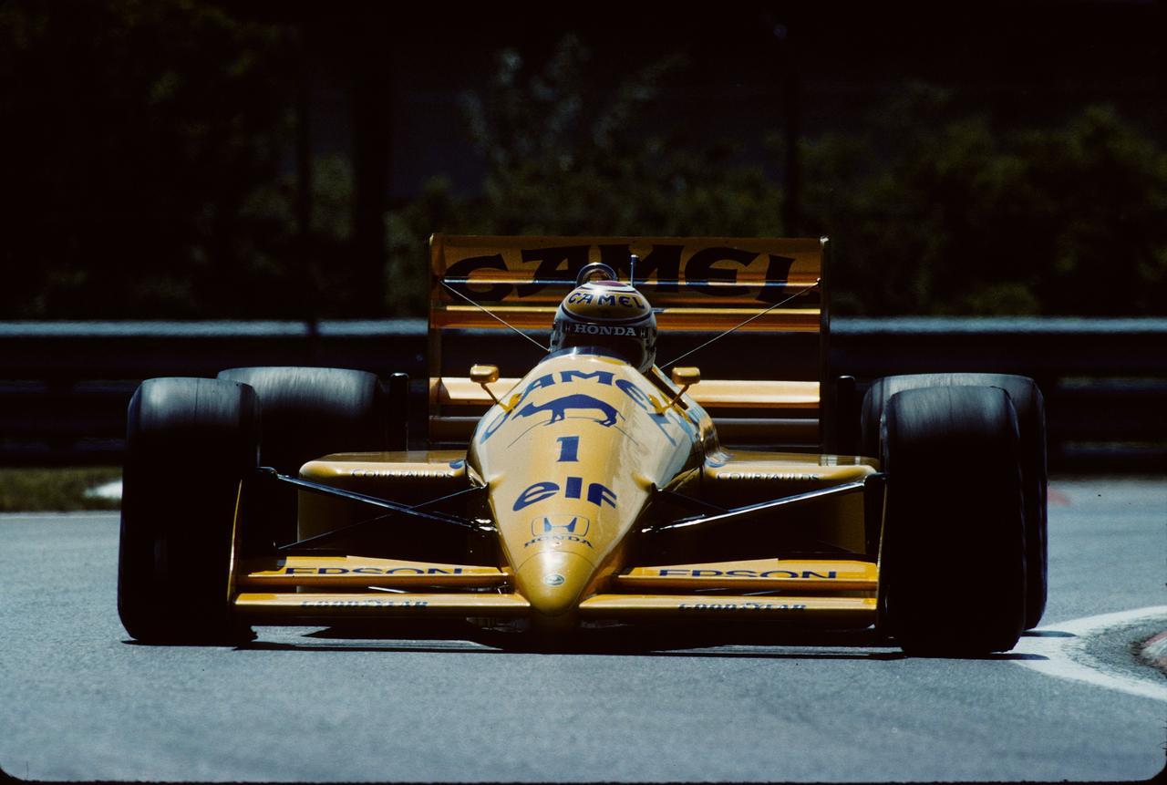 Images : 3番目の画像 - ロータス・ホンダ 100T Lotus Honda 100T(1988) - Webモーターマガジン