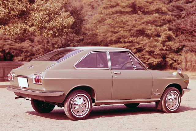 画像: 当時のフォード・マスタングにも似たファストバック・スタイル。この可愛らしいオシリに人気があった。
