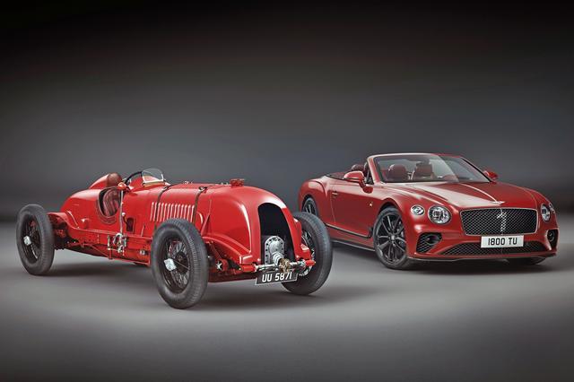 画像: No.1 ベントレー・ブロワー(左)と、特別限定車「ナンバー1 エディション・バイ・マリナー」