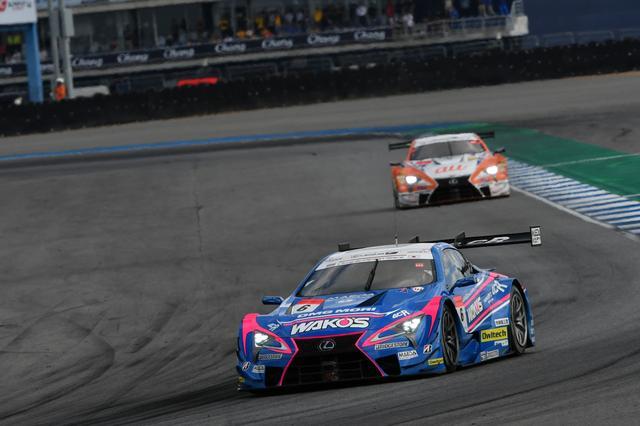 画像2: 逃げるチーム ルマン、追うチームTOM'S(GT500クラス)