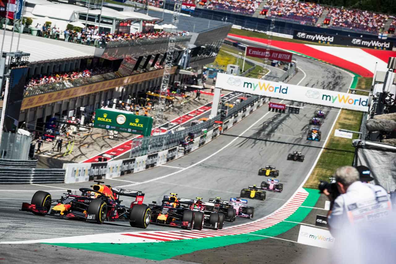 Images : 1番目の画像 - F1第9戦オーストリアGP フェルスタッペン優勝 - Webモーターマガジン