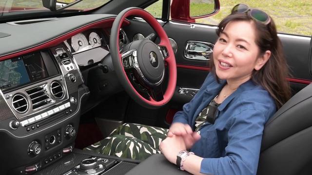 画像: 竹岡 圭の今日もクルマと・・・ロールスロイス ドーン ブラックバッジ Test Drive youtu.be