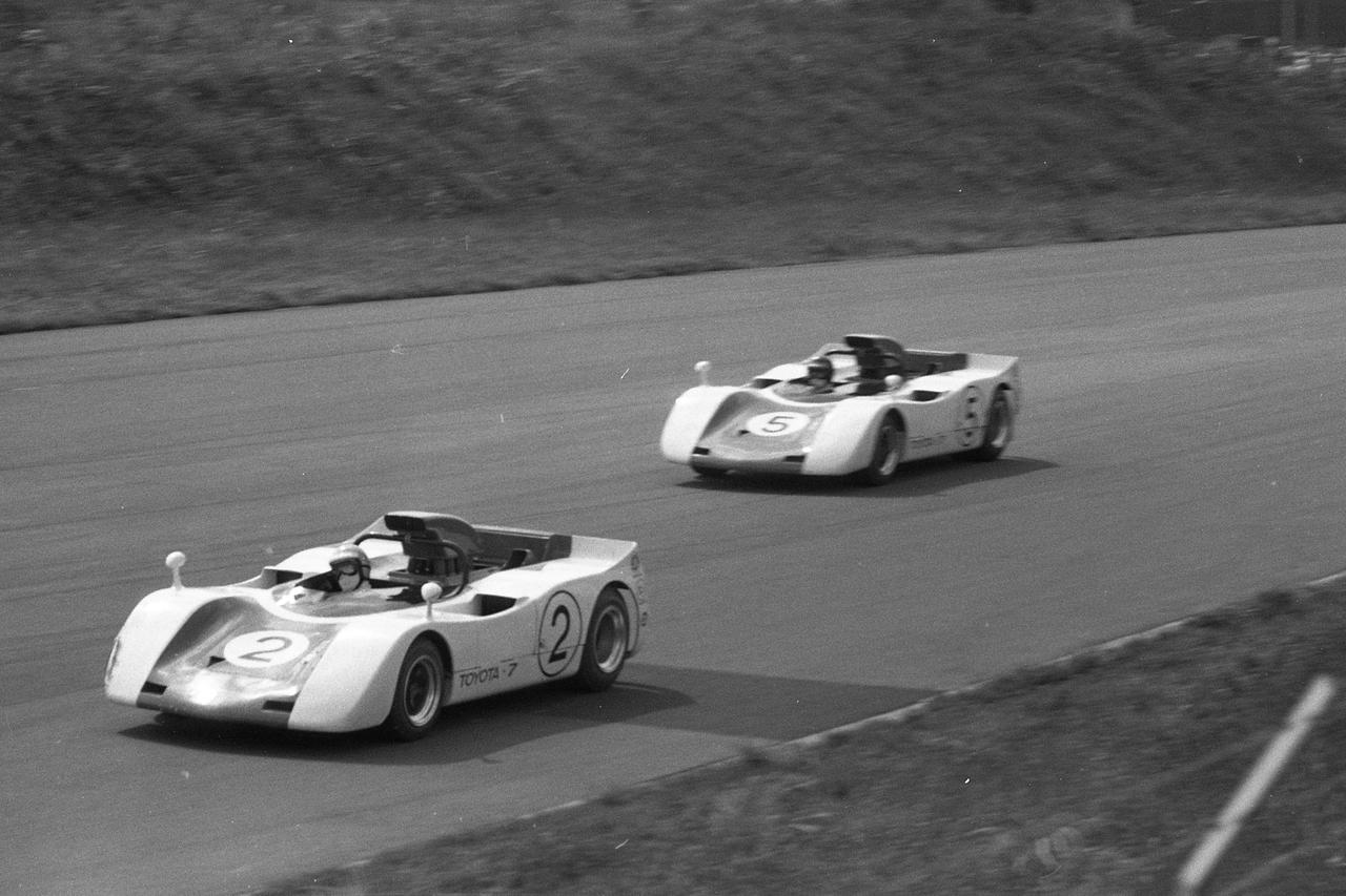 Images : 2番目の画像 - 1969年日本グランプリ トヨタ7 - Webモーターマガジン
