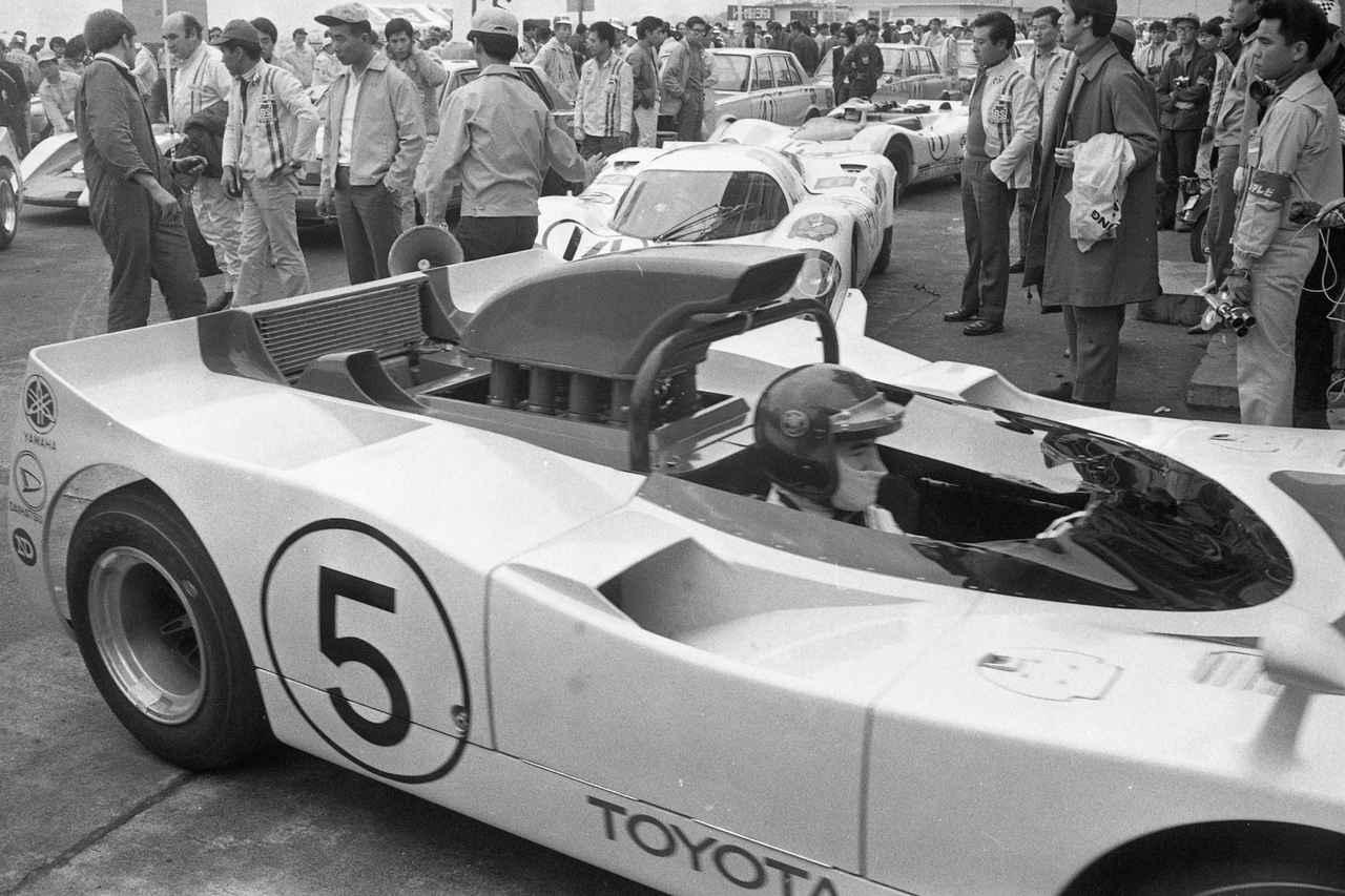 Images : 10番目の画像 - 1969年日本グランプリ トヨタ7 - Webモーターマガジン