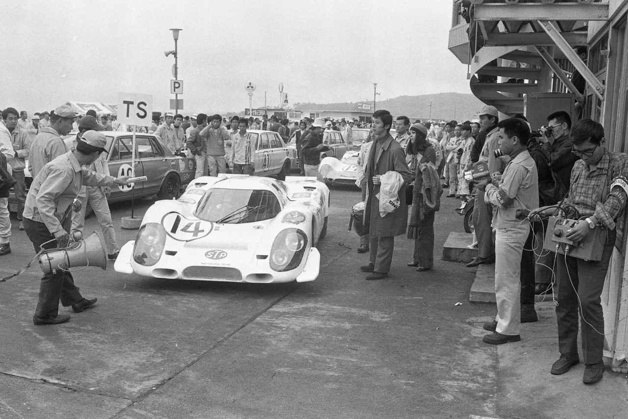 Images : 7番目の画像 - 1969年日本グランプリ ポルシェ - Webモーターマガジン
