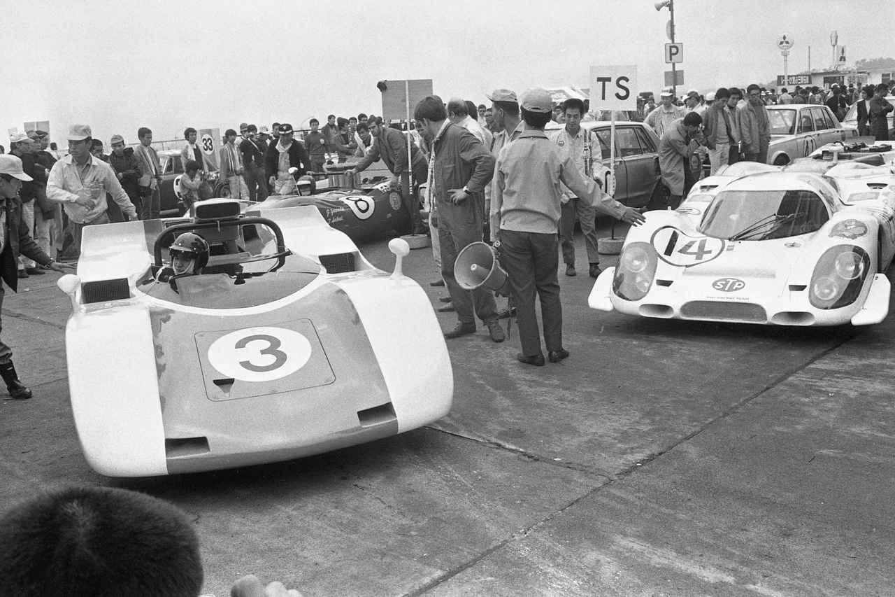Images : 9番目の画像 - 1969年日本グランプリ トヨタ7 - Webモーターマガジン