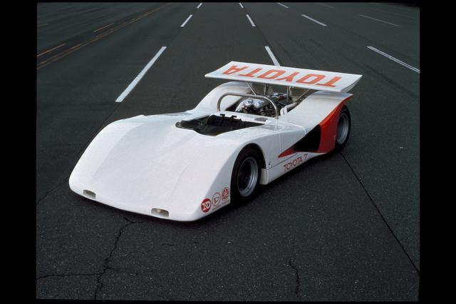 画像: 社内コード「578A」と呼ばれた3代目トヨタ7。1970年日本グランプリ、CAN-AM参戦に向けて開発が進められたが、ニッサンの日本グランプリ欠場、川合稔の事故などにより開発プロジェクトは中止。トヨタのスポーツプロトタイプカーの活動も途絶える。