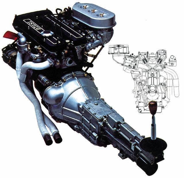 画像: G161W型エンジンは生産体制の問題=DOHCヘッドが大量生産できなかったこともあり、コストが高くついてしまった。いわば手づくりのエンジン。
