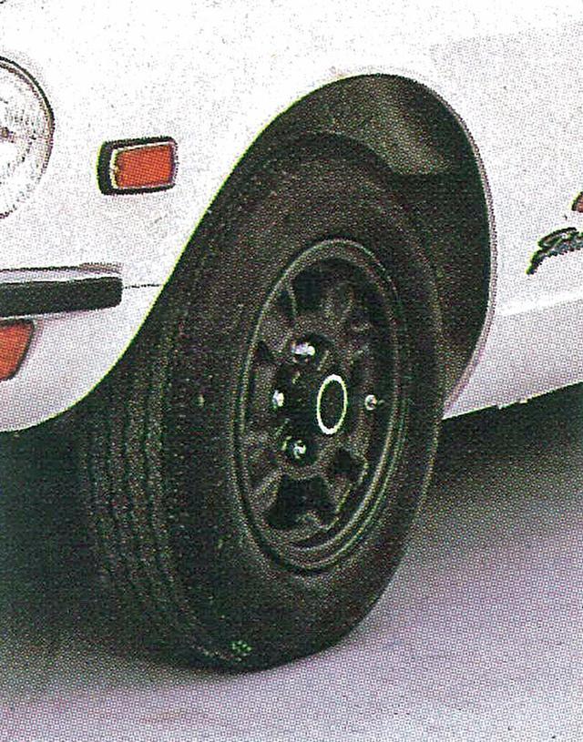 画像: Z432はサーキット志向が強く、当時としては珍しく、ホイールはスチールのほかにマグネシウムも設定されていた。