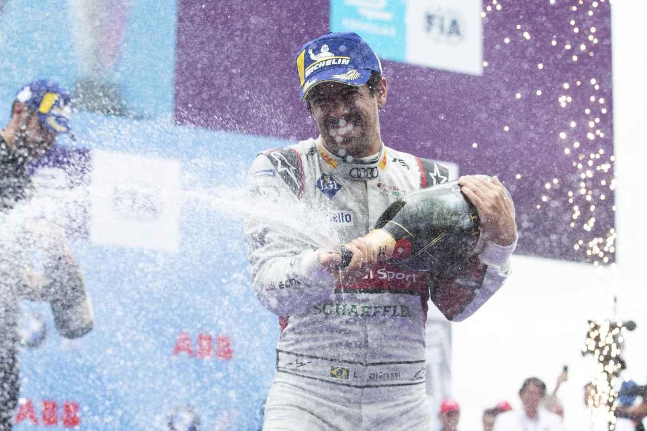 画像: ドライバーズ2位のルーカス・ディ・グラッシ(アウディスポーツ・アプト)。2016-17以来、2度目のチャンピオンを目指して最終ラウンドに挑む。ディ・グラッシは過去4シーズン、2位、1位、2位、3位と常にチャンピオン争いを繰り広げている。