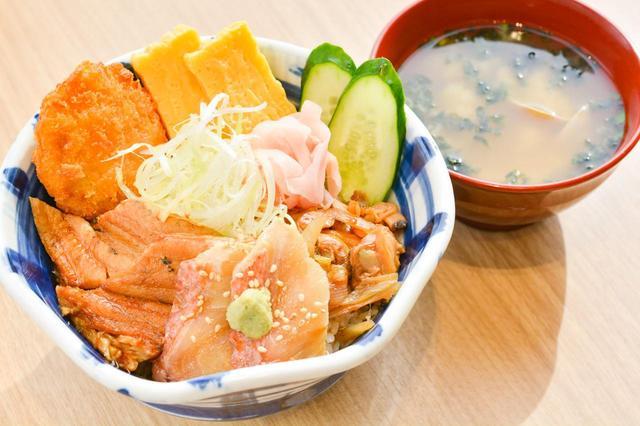 画像: 5年以上前から人気を集めている「これぞ、ちーば丼」は1280円。みそ汁付きで1480円。