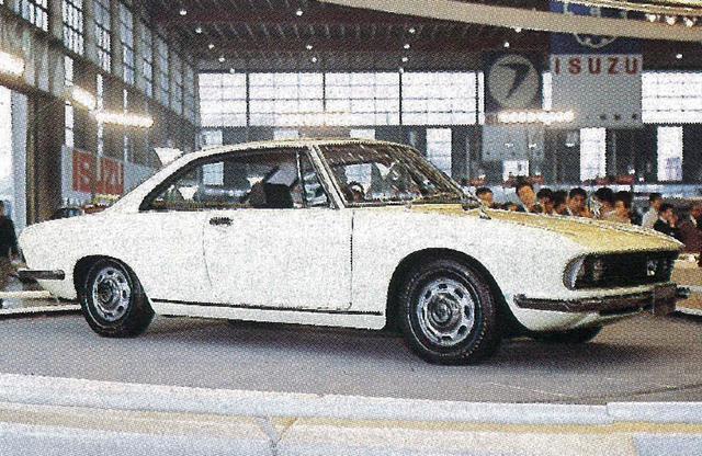 画像: 1968年の東京モーターショーに参考出品されたルーチェ・ロータリークーペは生産型と異なり、コンシールド型ヘッドランプを採用していた。