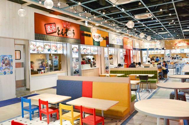 画像: 海ほたるPAのレストランのある5階部分はリニューアルされたばかり。