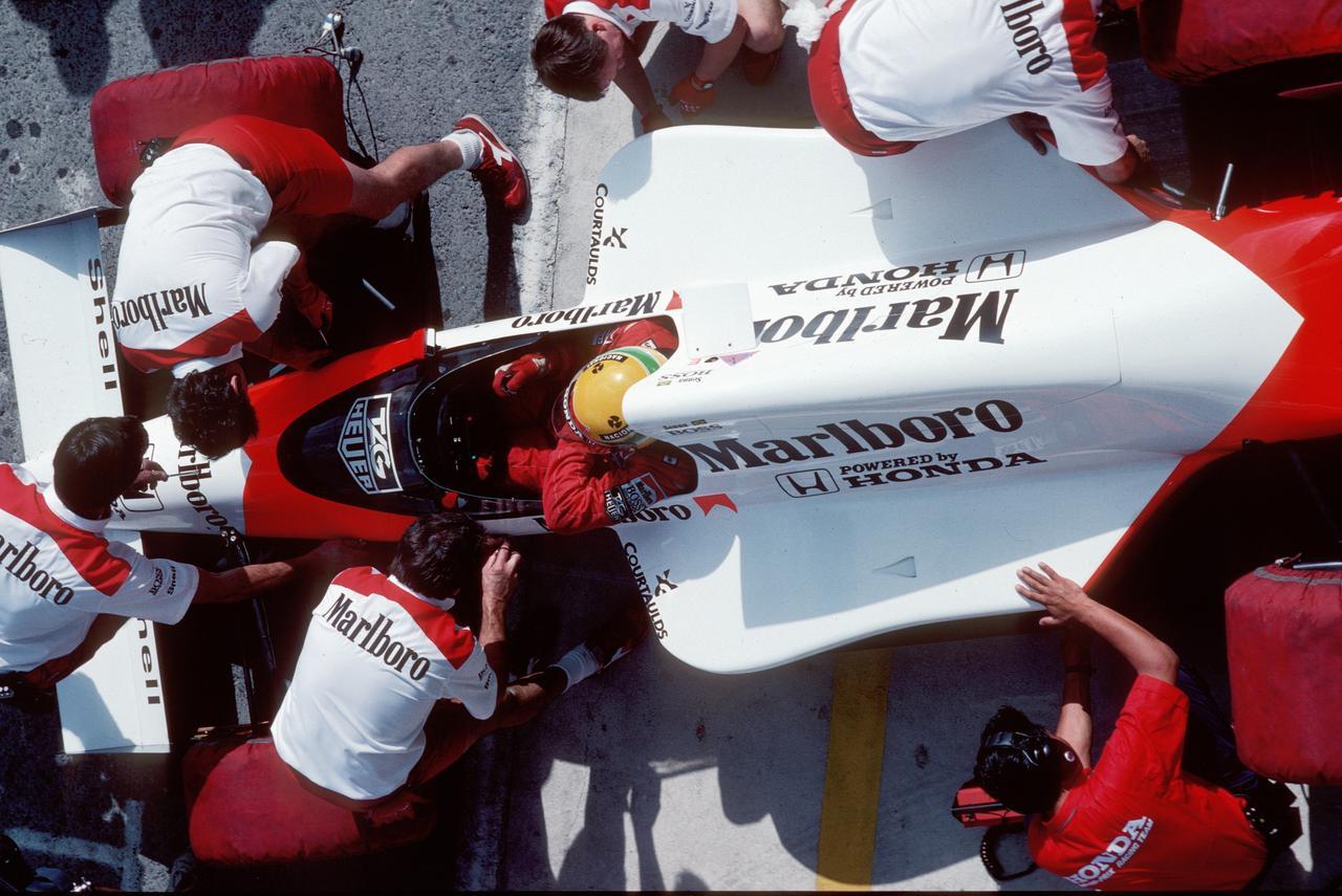Images : 3番目の画像 - マクラーレン・ホンダ MP4/5(1989) - Webモーターマガジン