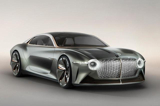 画像: Bentley EXP 100 GTは約15年後、2035年のベントレーモデルを体現している。