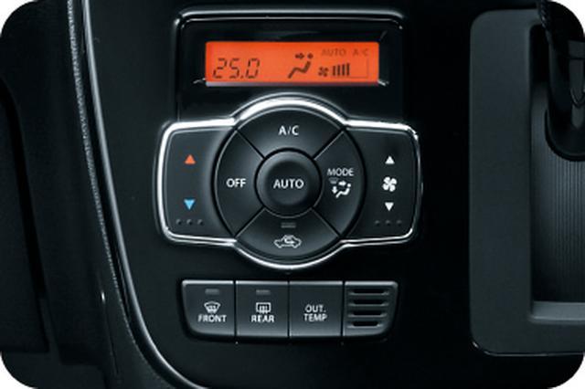 画像: フルオートエアコン(外気温計、エアフィルター付き)