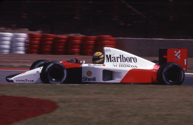 画像: モナコGPではアイルトン・セナがナイジェル・マンセルとの死闘を制し、ウィリアムズの開幕6連勝を食い止めた。