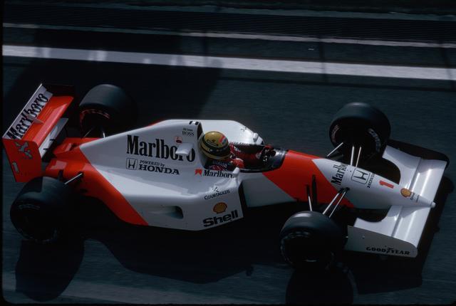 画像: 6年連続コンストラクターズタイトル獲得に貢献してきたホンダだったが、この年、ウィリアムズ・ルノーに敗れ、ついにその連勝記録も途絶えた。