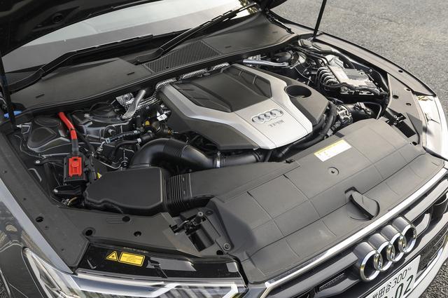 画像: DLZ型の3L V6DOHCターボエンジンに7速DCTを組み合わせる。