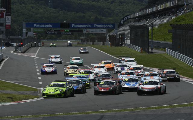画像: 富士スピードウェイ本コースではポルシェカレラカップジャパン、ポルシェカレラカップアジア、ポルシェスプリントチャレンジジャパンといったレースイベントも開催された。