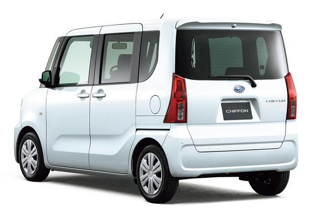 画像: スバルの新型シフォンは4WDモデルもラインアップする。