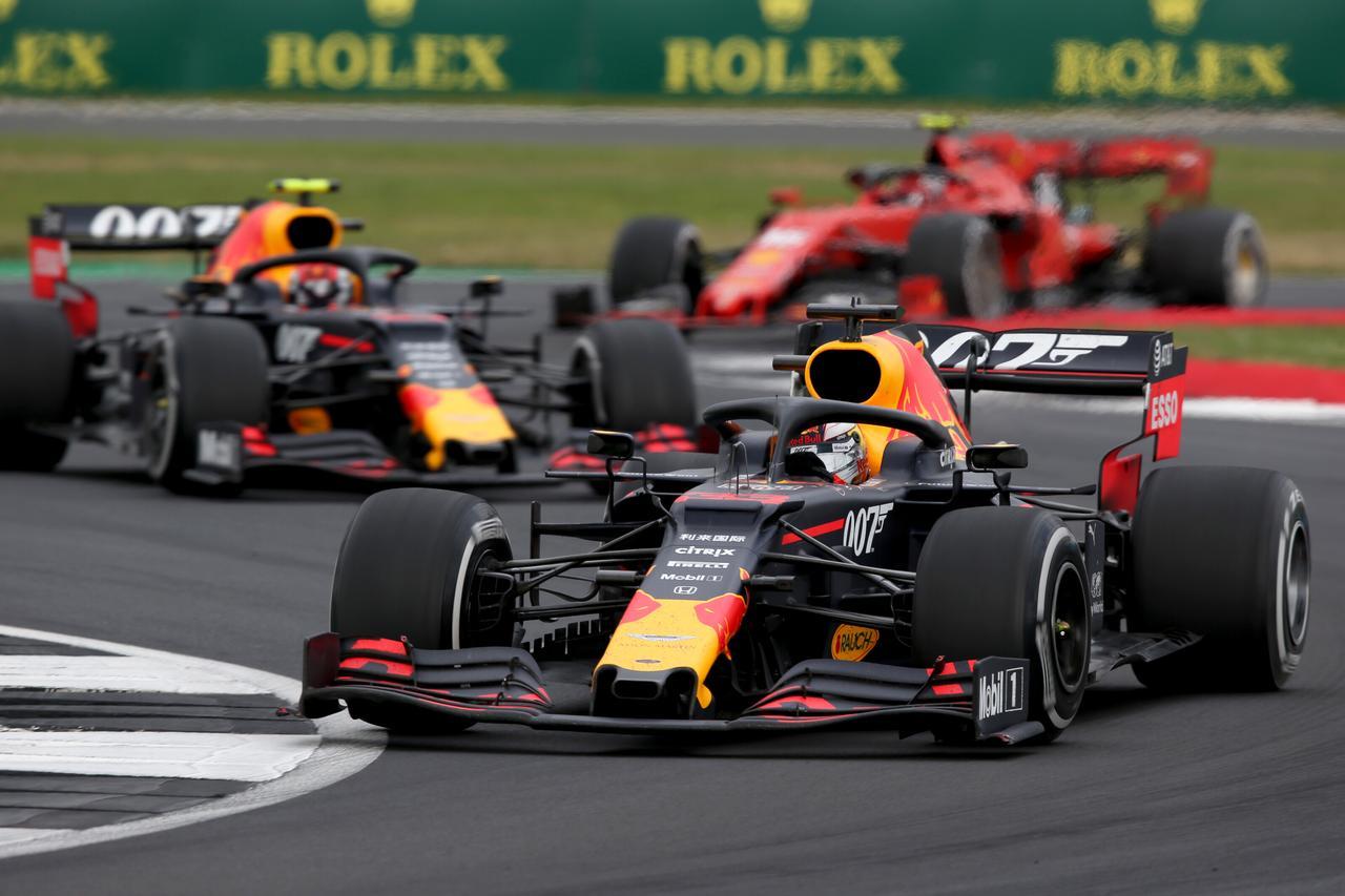 Images : イギリスGPは5位に終わったマックス・フェルスタッペン(レッドブル・ホンダ)。