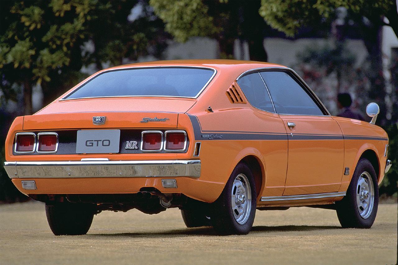 画像: GTOの最大のポイントは、このヒップアップテールにあった。当時のフォード・マスタングを思わせるこのリアスタイルは迫力がある。