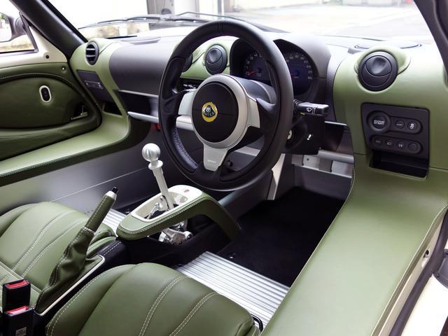 画像: アロエグリーンの専用インテリアカラーパック装着車。