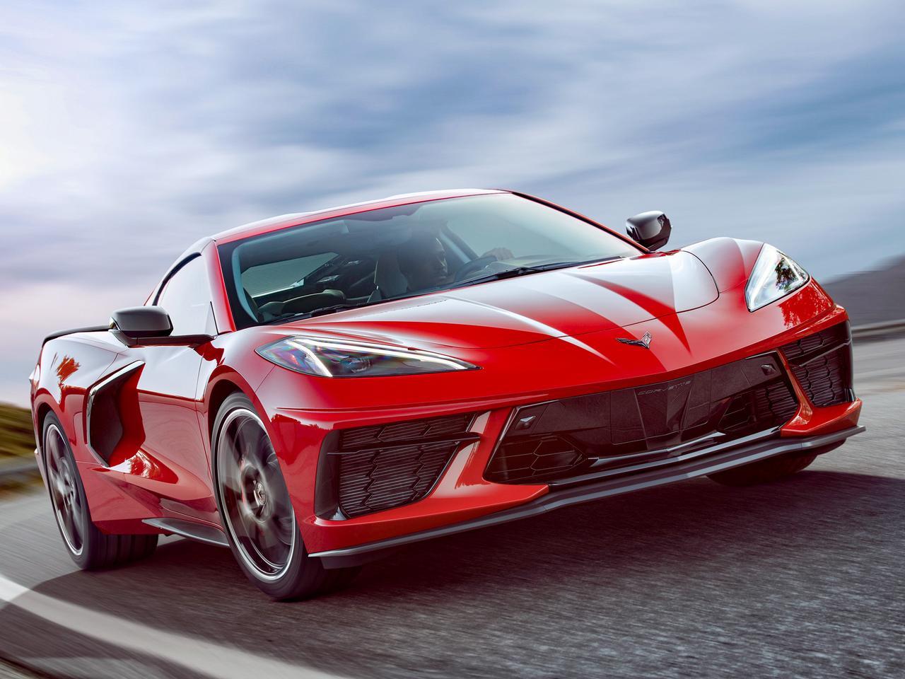 シボレー コルベット 新型 新車カタログ - シボレー コルベットC8 スティングレー